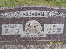 Cordelia Margaret <I>Watson</I> Abraham