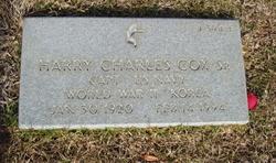 Capt Harry Charles Cox, Sr