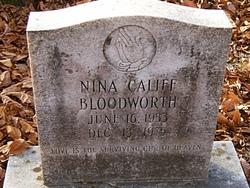 Nina L. <I>Califf</I> Bloodworth