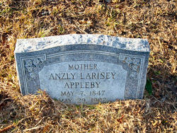 Anzley C. <I>Larisey</I> Appleby
