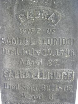 Sabra <I>Howes</I> Eldridge