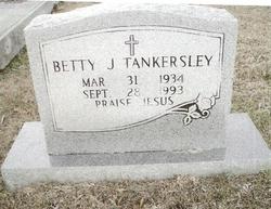 Betty J Tankersley