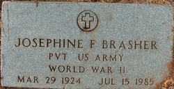 Josephine Elizabeth <I>Frieble</I> Brasher