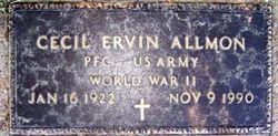 Cecil Ervin Allmon