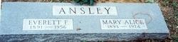 Mary Alice <I>McDaniel</I> Ansley