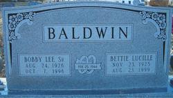 Bettie Lucille <I>Craft</I> Baldwin