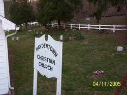 Haydentown Christain Church Cemetery