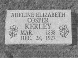"Adeline Elizabeth ""Winnie"" <I>Cosper</I> Kerley"