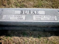 Edith Pauline <I>Dennis</I> Burke