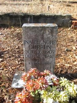 Ina Blanche <I>Hale</I> Curren