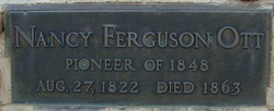 Nancy Williams <I>Ferguson</I> Ott