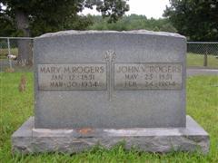 Mary M <I>Davis</I> Rogers