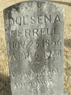Dulcena Goodpasture <I>Wright</I> Ferrell