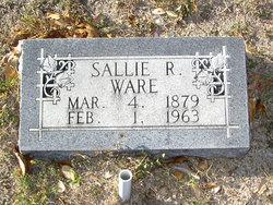 "Sarah Lavenia ""Sallie"" <I>Roberts</I> Ware"