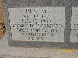 Ben M Byers