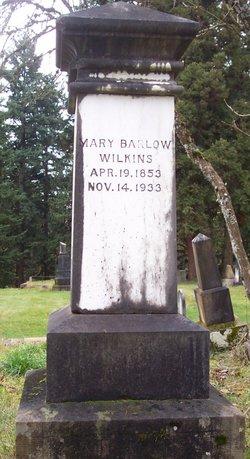 Mary <I>Barlow</I> Wilkins