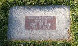 Mildred Wallin