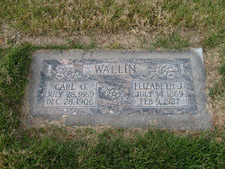 Elizabeth <I>Tripp</I> Wallin