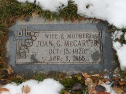 Joan <I>Gebhardt</I> McCarter