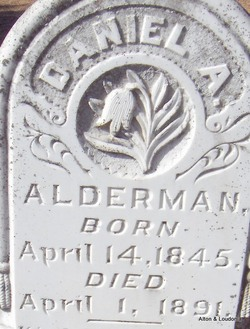 Daniel Asa Alderman