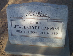 Jewel Clyde Cannon