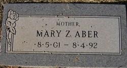 Mary Z. <I>Stuller</I> Aber