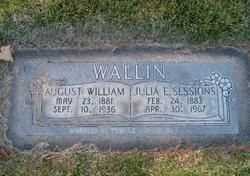 Julia Elizabeth <I>Sessions</I> Wallin