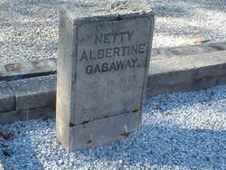 Nettie Albertine <I>Pierce</I> Gasaway