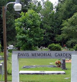 Davis Memorial Garden
