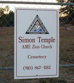 Simon Temple A.M.E. Zion Cemetery