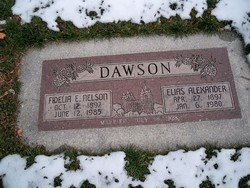 Elias Alexander Dawson