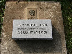 Lucy Ann <I>Anderson</I> Gibson