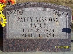 Patty Orilla <I>Sessions</I> Hatch