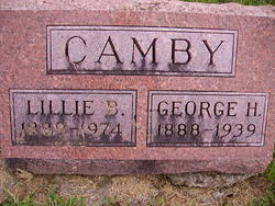 Lillie B <I>Filley</I> Camby