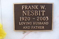 Frank W Nesbit
