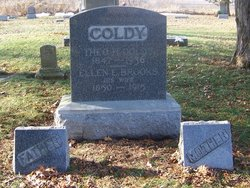 Ellen E. <I>Brooks</I> Coldy