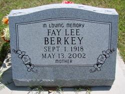 Fay Lee <I>Thomas</I> Berkey