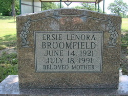 Ersie Lenora <I>Cochran</I> Broomfield