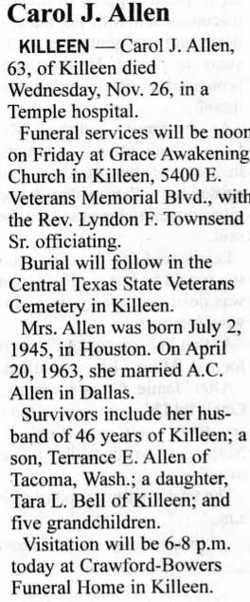 Carol J. Allen