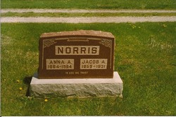 Anna Alvoretta <I>Rains</I> Norris