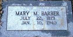 Mary Magdaline <I>Bryan</I> Barber