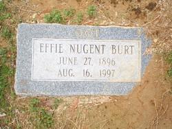 """Effie Dorothy """"Dottie"""" <I>Nugent</I> Burt"""