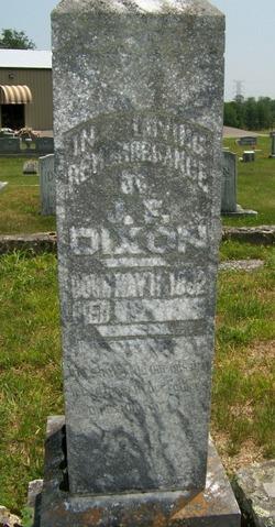 Joseph F Dixon