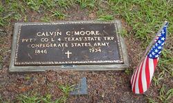 Calvin C Moore