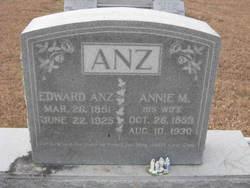 Annie M <I>Groff</I> Anz