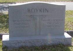 Mattie <I>Edenfield</I> Boykin