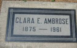 Clara Elizabeth <I>Philips</I> Ambrose