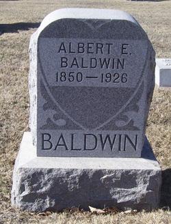 Albert E Baldwin