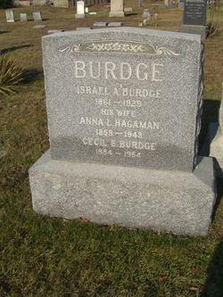 Anna L <I>Hagaman</I> Burdge