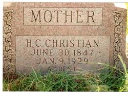 Harriet Catherine <I>Avery</I> Christian